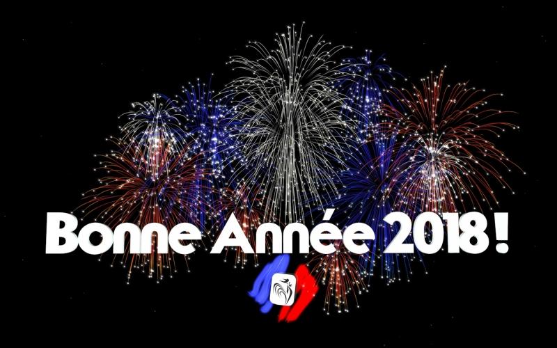 Bonne et Chanceuse Année 2018 !